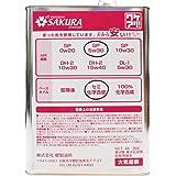 【訳あり オイル缶】 エンジン オイル SP 5W-30 (セミ化学合成油) 4L缶