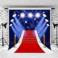 ケイトのステージの背景写真撮影プロップレッドカーペットフォトBackdrops Photograhers Studio 6.5x10ft YSL-YY00021-B