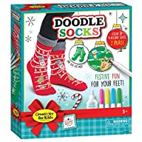 Creativity for Kids Holiday Socks Multi [並行輸入品]