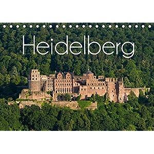 Heidelberg (Tischkalender 2019 DIN A5 quer): Romantische Stadt am Neckar im Wandel der Jahreszeiten (Monatskalender, 14 Seiten )
