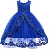 Fulision Flower Girl Dress Pageant Party Elegant Prom Gown Dresses