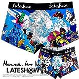 LATESHOW (レイトショー) 8000m峰 14座シリーズ ローライズ ボクサーパンツ K2 dwearsステッカー入り ボクサー ブランド 男性 下着 誕生日 プレゼント