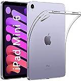 NUPO iPad mini6 iPad mini (第6世代) ケース 耐衝撃 クリア 透明 TPU シリコン iPad mini 6 2021 専用カバー (透明)