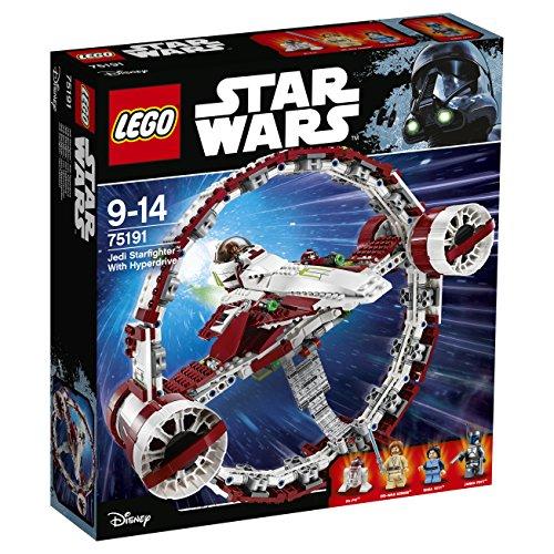 LEGO Star Wars Jedi Starfighter with Hyperdrive Set #75191