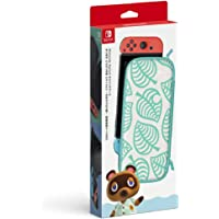 Nintendo Switchキャリングケース あつまれ どうぶつの森エディション ~たぬきアロハ柄~(画面保護シート付き)