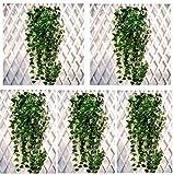 vegonia(ベゴニア) 観葉植物 インテリア 大型 人工 造花 お買い得セット オシャレ 室内 フェイク 壁掛け リアル (5本)