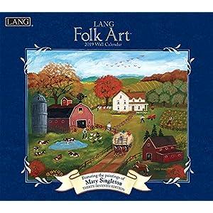 Lang Folk Art 2019 Calendar