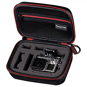 Smatree GoPro Hero 6 収納ケース Gopro Hero 6、5、4、3、2, SJ4000、SJ5000、SJ6000などコンパクトカメラー 対応 カメラケース 携帯便利 防震 防塵 旅行やホームストレージケース