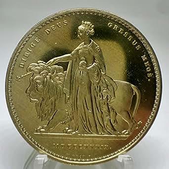 イギリス ウナとライオン ヤングビクトリア金貨 レプリカ