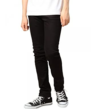Beauty & Youth Stretch Cotton Drill Skinny Pants 1214-173-6268: Black