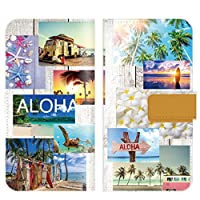【 ankh 】 手帳型ケース 全機種対応 【Galaxy S9 SC-02K専用 】 スマイル ニコちゃん ハワイアン にこ にこちゃん スマイル 亀 ハワイ hawaii ブック型 二つ折り レザー 手帳カバー スマホケース スマートフォン