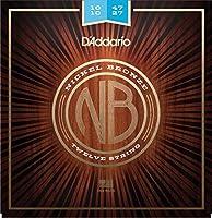 D'Addario ダダリオ アコースティックギター弦 ニッケルブロンズ Regular Light 12弦 .010-.047 NB1047-12 【国内正規品】