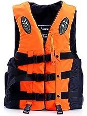 ライフジャケット フローティングベスト 救命胴衣 呼び子付き ホイッスル 反射帯付き 強い浮力 高い負荷力 安全安心 マリンスポーツ 2色/5サイズ 子供用 大人用 男女兼用