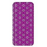 ホワイトナッツ VAIO Phone VA-10J ケース クリア ハード プリント パターンA(cw-1086) スリム 薄型 和柄 パターン WN-PR478827