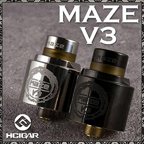 HCIGAR 社製 リビルダブルアトマイザー Maze V3 RDA STAINLESS ( メイズ V3 )アトマイザー 【 RBA 】【 RDA 】【 ドリッパー 】正規品