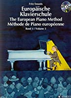 EMONTS - Metodo Europeo 3コ para Piano (Libro y CD)