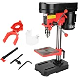 Accurate Drill Bench, Powerful Workbench Repair Tool Bench Drill, Stainless Steel DIY Enthusiasts Worker Woodworking for Work
