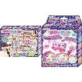 キラデコアート ぷにジェル3D カラフルポップDX 別売りジェルセット(カラージェル ピンク/パープル)