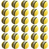 ゴルフ 練習 ボール 30球 セット 黄色【室内練習等】