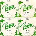 Prim 4/4 Cello String Set - Medium Gauge 【TEA】 [並行輸入品]