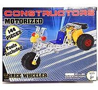 Motorised Build It Yourself Metal Three Wheeler Car Kit