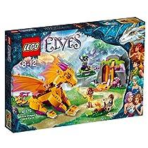 レゴ (LEGO) エルフ 火のドラゴンの溶岩洞窟 41175