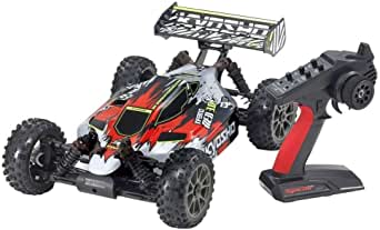京商 1/8スケール ブラシレスパワード 4WD レーシングバギー インファーノ NEO 3.0 VE カラータイプ2 レッド KT-231P+付 34108T2