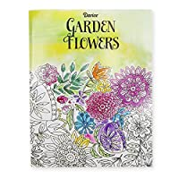 Darice Garden Flower Theme Coloring Books for Adults [並行輸入品]