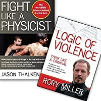 Bundle: Fight Like A Physicist book/Logic of Violence DVD (Jason Thalken/Rory Miller) YMAA Violence Prevention [並行輸入品]