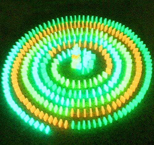 光る ドミノ 大量 セット 蓄光 幻想的 積み木 としても (l 30個 セット)