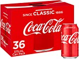 Coca-Cola Classic Soft Drink Multipack Cans 36 x 375 mL