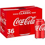 Coca-Cola Classic Soft Drink Multipack Cans 36 x 375mL
