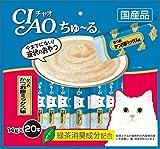 チャオ (CIAO) ちゅ~る かつおかつお節ミックス味 14g 20本
