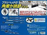 メルテック スノーブラシ(スクレーパー付き) 長さ3段階調整(1050~1590mm) ブラシヘッド角度調節  Meltec SNB-14