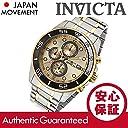 INVICTA (インヴィクタ) 17014 Specialty/スペシャリティー クロノグラフ ゴールド×シルバー メタルベルト メンズウォッチ 腕時計 並行輸入品