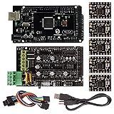 サインスマート RAMPS 1.4 3Dプリンターをはじめよう 互換キット(Mega 2560 R3 + A4988 for Arduino RepRap) 詳細なチュートリアルPDF提供