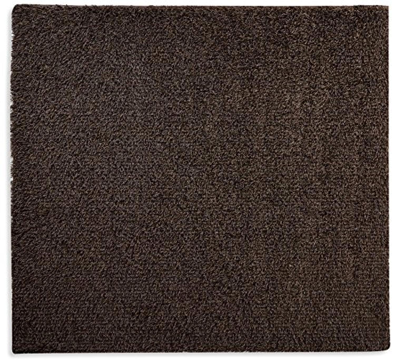 オーダーラグ ミックスハイパイル シャギー ブラウン 幅100cm 長さ230cm アレルブロック 防ダニ