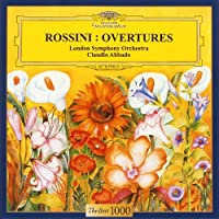 Claudio Abbado / London Symphony Orchestra - Rossini: Overtures [Japan LTD CD] UCCG-5068 by Claudio Abbado / London Symphony Orchestra