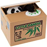 貯金箱 バンク可愛い電動貯金箱 マネー 子供のお金 プレゼント (パンダ)