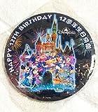 香港 ディズニーランド 12周年記念 缶バッジ