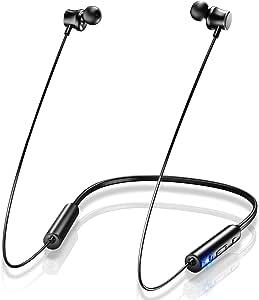 【令和進化版 最大20時間連続再生】Bluetooth イヤホン スポーツ ワイヤレス イヤホン IPX7防水 マグネット搭載 Hi-Fi高音質 最新bluetooth 5.0+EDR搭載 AAC対応 CVC8.0ノイズキャンセリング ブルートゥース イヤホン マイク付き ハンズフリー通話 自動ペアリング 音量調節 二台接続可能 Siri対応 PSE&技適認証済 iPhone/ipad/Android対応
