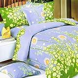 Blancho Bedding - [タンポポの夢] 綿100% MEGA 掛け布団カバーセット(コンフォーター/デュべカバー)組み合わせ 7点セット クイーンサイズ(US)