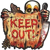 Amscan Creepy Carnival Cutout Halloween Trick or Treat Party Decoration 10 1/2 Multicolor [並行輸入品]