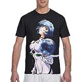 xiaojun Netero Graphic Short Sleeve T Shirts for Men Black