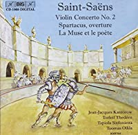 Violin Concerto No. 2; Spartac by CAMILLE SAINT-SAENS (2001-11-27)
