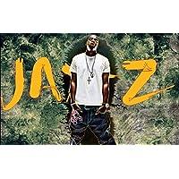 Jay - Z Starポスターシルク壁印刷40インチx 24インチ/ 21インチx 13インチ 40x24 HBW922