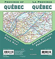 Quebec Provincial Map [並行輸入品]