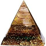 クリスタル ピラミッド オルゴンピラミッド オルゴナイト ピラミッド チャクラ ピラミッド パワーストーン 置物 クリスタルストーン エネルギー発生器 パワーストーン パワーストン 水晶ピラミッド 置物 瞑想 家庭装飾
