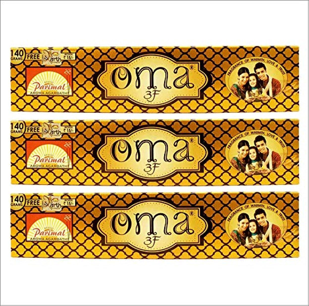 より良い市の花商人Parimal OMA 3F Incense Sticks