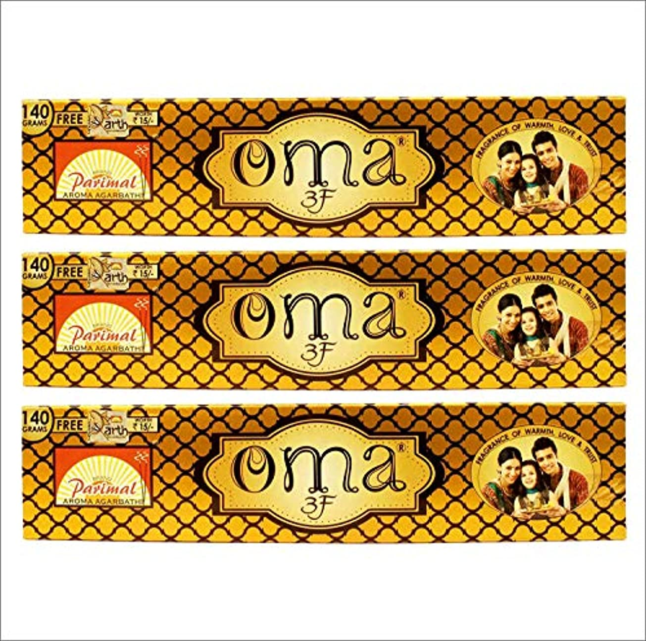 ライバル精神暴君Parimal OMA 3F Incense Sticks